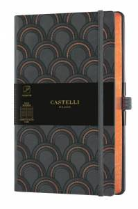 Notes CASTELLI  ART DECO COPPER LINIE wymiar 13x21x1,5 9576661
