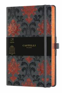 Notes CASTELLI  BAROQUE COPPER LINIE wymiar 13x21x1,5 9576612