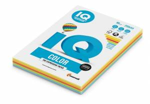 Papier ksero IQ COLOR  A4/80g mix intesywne